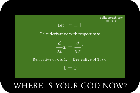 Math 0 on Exam Grade Meme